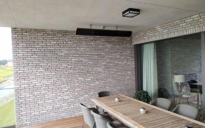 Réalisation à Sterrebeek sur terrasses d'appartements